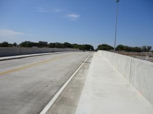 Rosser Road Bridge Reconstructed