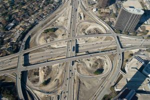 635 and Dallas North Tollway Interchange