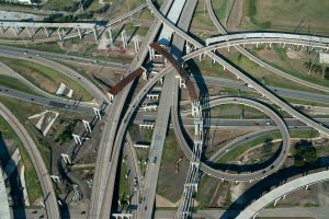 I-635 and I-35 E Interchange